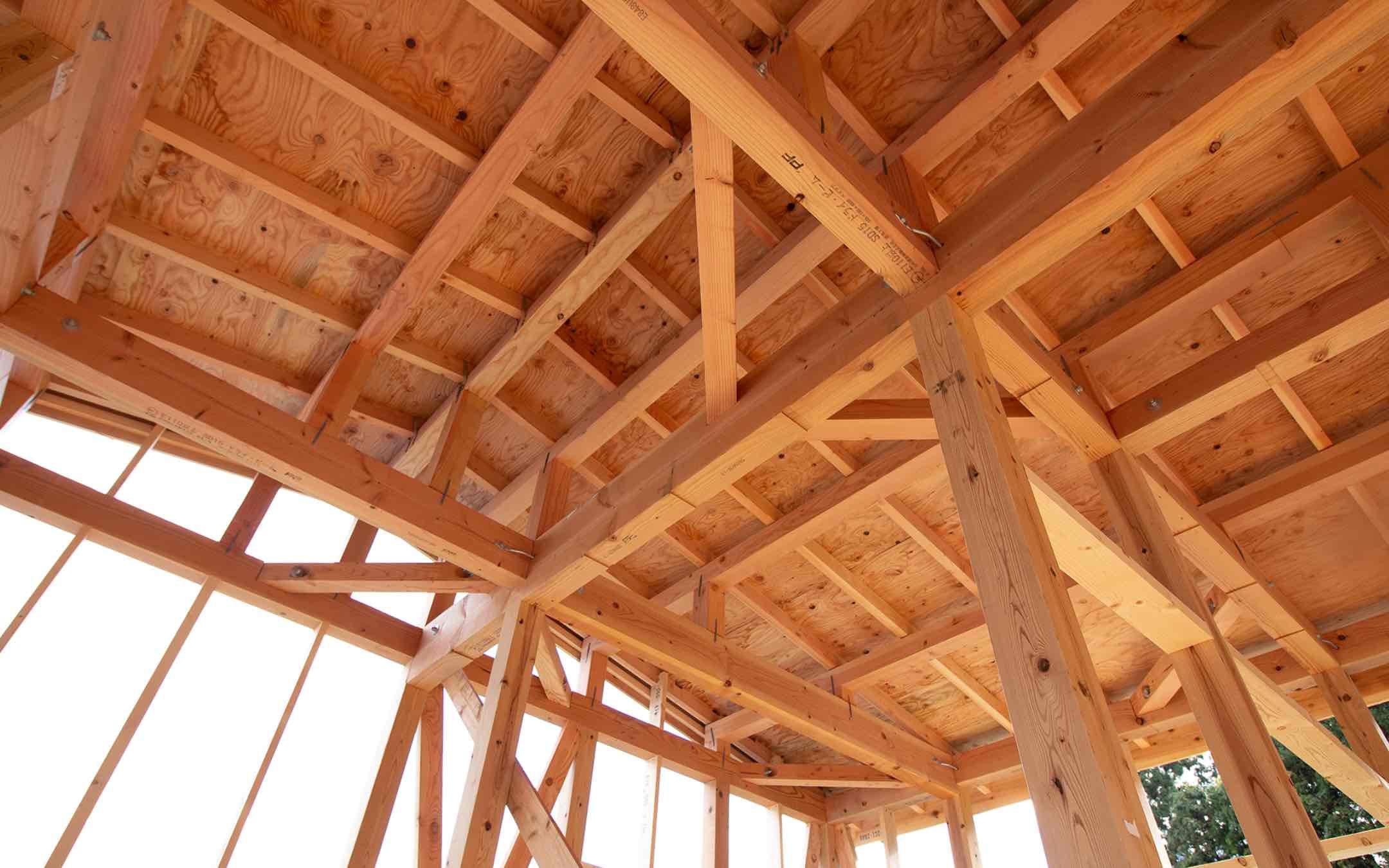 建設会社の技術力で建てる安心・案全な家